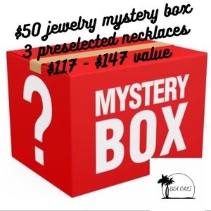 Jewelry Mystery Box -value $117-$147 for $50